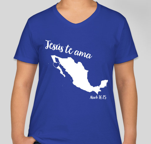 Mustion Mexico Mission Trip Fundraiser - unisex shirt design - front