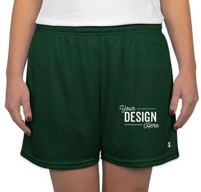 Champion Women's Active Mesh Shorts - Athletic Dark Green
