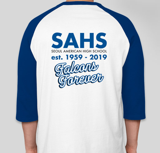 Seoul American High School Reunion Shirts Fundraiser - unisex shirt design - back