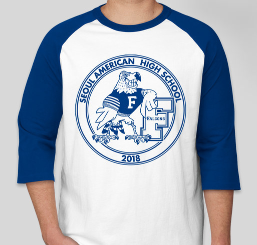 Seoul American High School Reunion Shirts Fundraiser - unisex shirt design - front