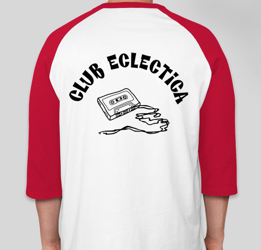 Club eclectica membership tee shirts custom ink fundraising for Custom t shirts under 5 dollars