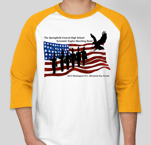 Springfield central high school screaming eagles marching for High school band shirts