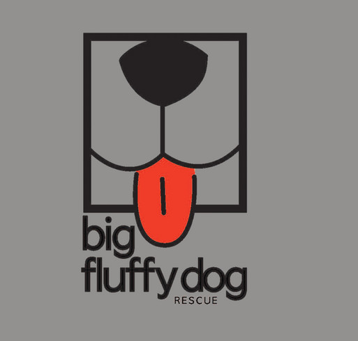 Big Fluffy Dog Rescue Long Sleeve and Baseball T-Shirts shirt design - zoomed