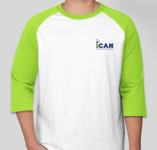 iCAN Spirit Wear Fundraiser - unisex shirt design - front