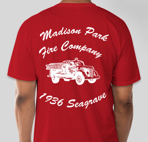 Support Engine 401 Fundraiser - unisex shirt design - back