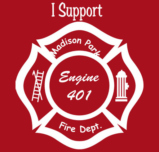 Support Engine 401 shirt design - zoomed