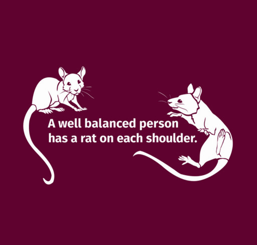 Central Texas Rat Rescue! shirt design - zoomed