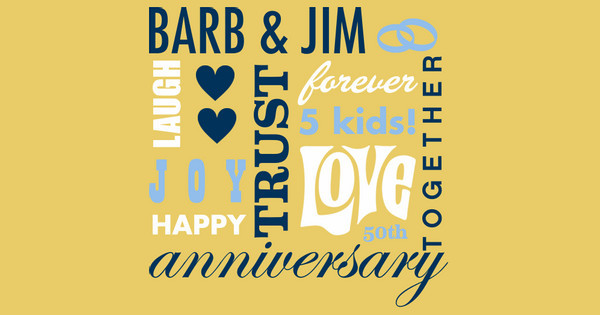 Barb & Jim's Anniversary