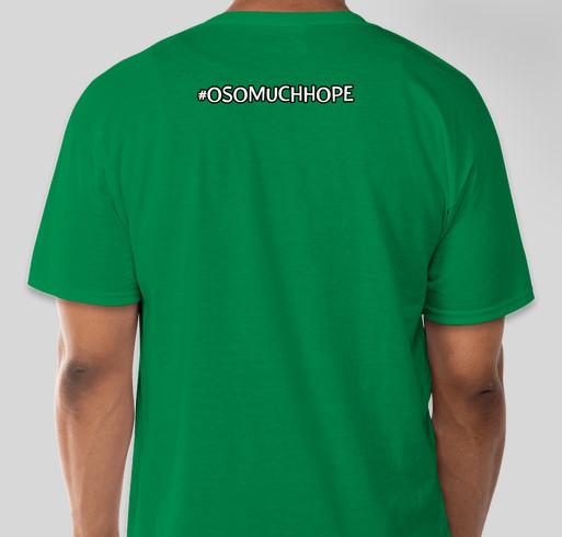 Oso Much Hope T-Shirt Fundraiser for Victims of the 530 Mudslide Fundraiser - unisex shirt design - back