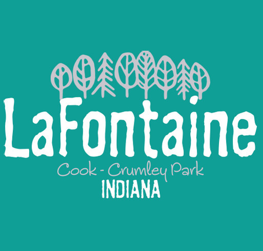 LaFontaine Park Fund: Cook-Crumley Park shirt design - zoomed