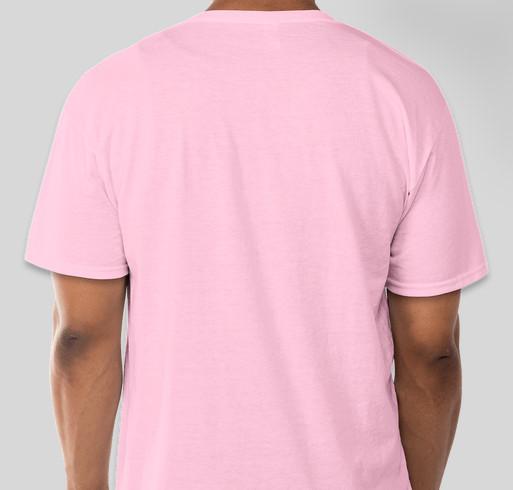 Wilson Cheer Breast Cancer T-Shirt Fundraiser Fundraiser - unisex shirt design - back