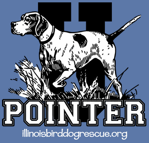 Pointer U! shirt design - zoomed