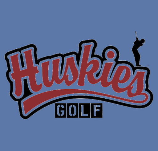 2015 Hamilton HS Huskies Boys Golf Limited Edition T-Shirt Drive shirt design - zoomed