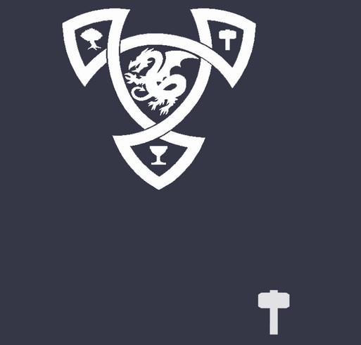 Dark Age of Camelot - Midgard Realm Pride shirt design - zoomed
