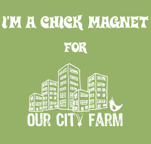 Our City Farm Fence Fundraiser shirt design - zoomed