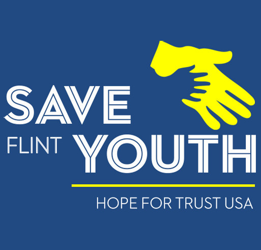 Save Flint Youth shirt design - zoomed