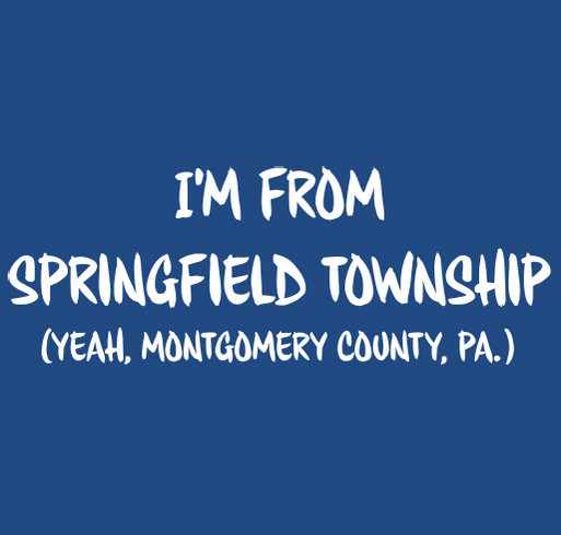 Springfield Township Rotary Club Fundraiser shirt design - zoomed