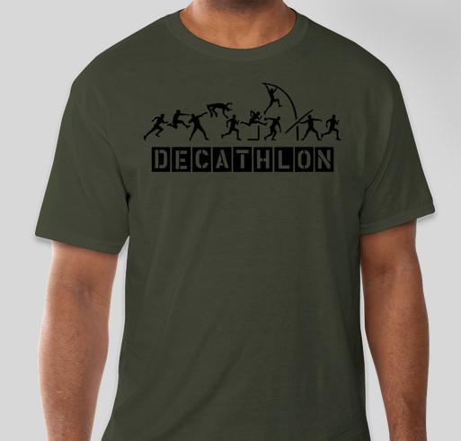 Decathlon T-Shirt Fundraiser - unisex shirt design - front