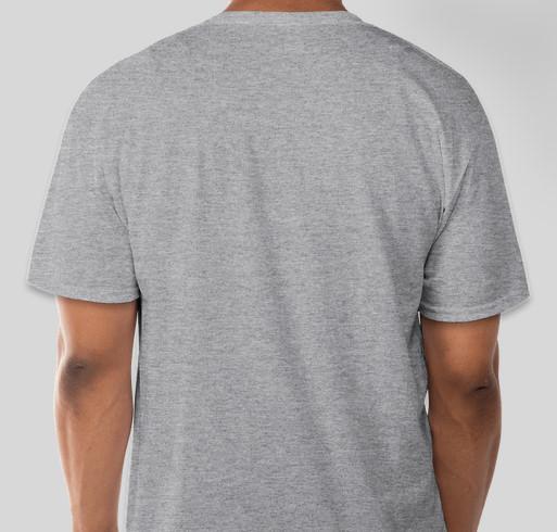 Decathlon T-Shirt Fundraiser - unisex shirt design - back