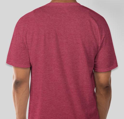 DLC Beginning Acting Fall shirt Fundraiser - unisex shirt design - back