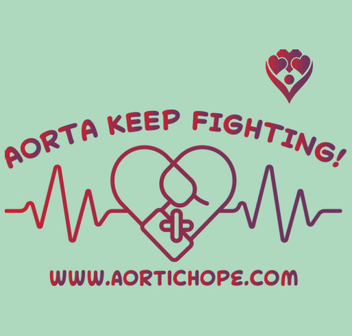 HOP Into Spring with Aortic Hope! shirt design - zoomed