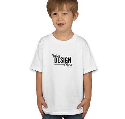 Hanes Toddler 100% Cotton T-shirt - White