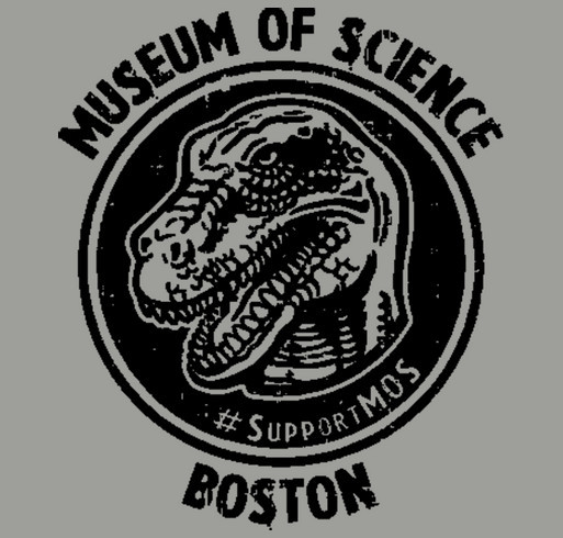 Museum of Science, Boston Giving Tuesday Fundraiser shirt design - zoomed