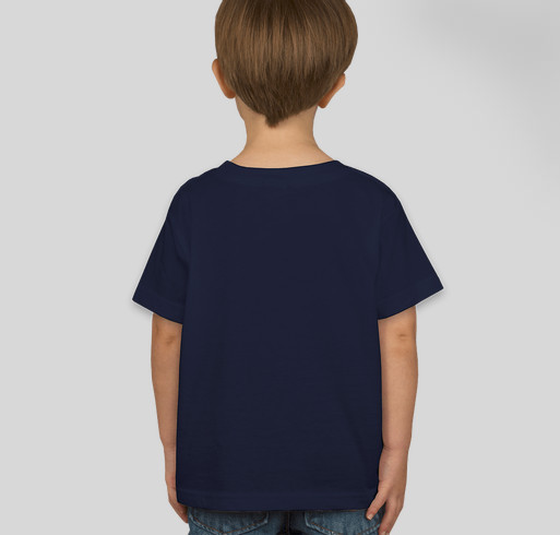 CLT for Charlotte (toddlers and onesies) Fundraiser - unisex shirt design - back