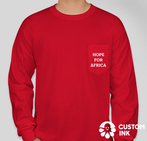Sign Up for Hope For Africa T-Shirts at CustomInk.com'