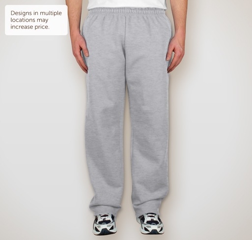 Gildan 50/50 Open Bottom Sweatpants - Selected Color