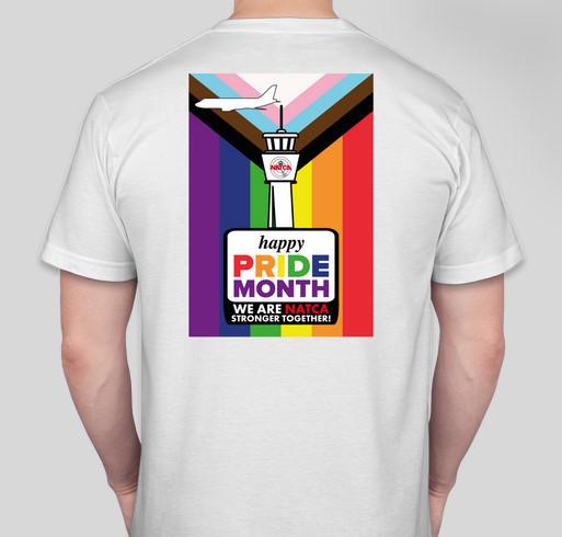 June is PRIDE Month Fundraiser - unisex shirt design - back