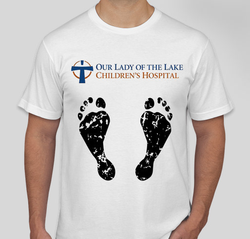 886f6bb9 Our Lady of the Lake Children's Hospital Fundraiser - unisex shirt design -  front