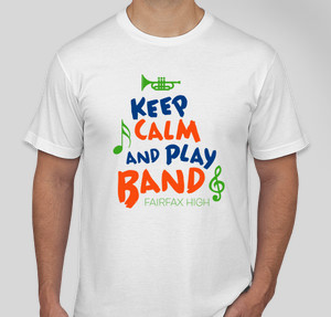 Keep Calm Play Band