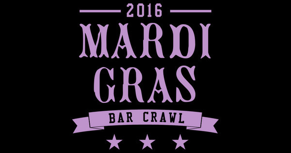 Bar Crawl, Mardi Gras