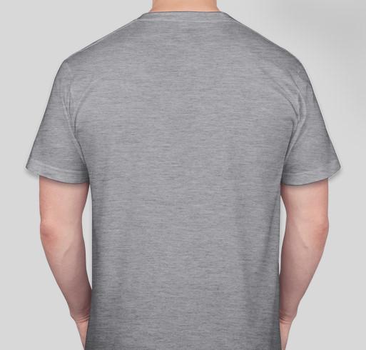 The CAM Foundation (World Sanfilippo Awareness Day-2020) Fundraiser - unisex shirt design - back