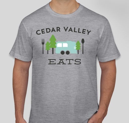 Cedar Valley Eats Playground Fundraiser Fundraiser - unisex shirt design - front