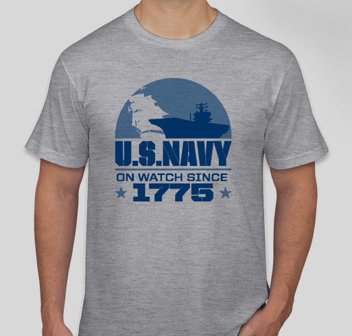 Yellow Ribbon Fund - US Navy Fundraiser - unisex shirt design - front