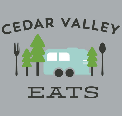 Cedar Valley Eats Playground Fundraiser shirt design - zoomed