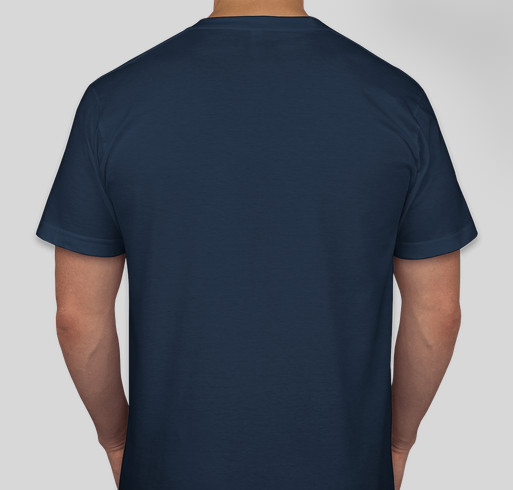 Yellow Ribbon Fund - US Coast Guard Fundraiser - unisex shirt design - back