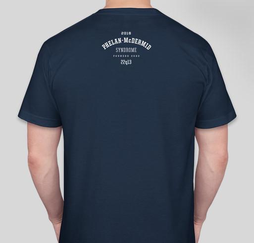 PHELAN LUCKY 2016 Fundraiser - unisex shirt design - back