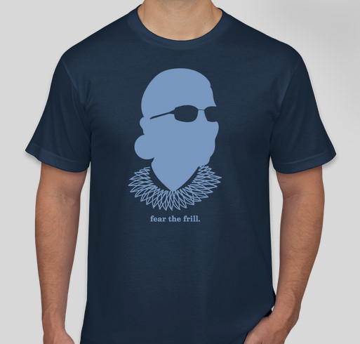 RBG - Fear the Frill Fundraiser - unisex shirt design - front