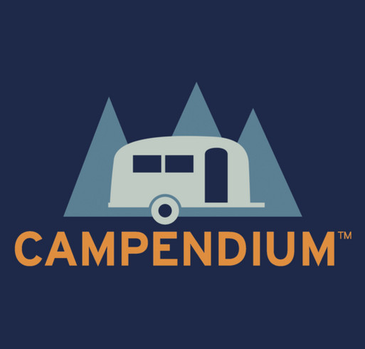 Campendium Fundraiser shirt design - zoomed