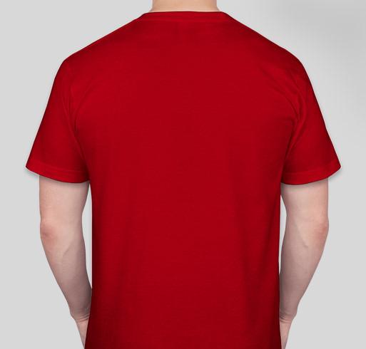 Lauren's #Run10Feed10 Fundraiser to Fight Hunger-Women's Health Take Action Fundraiser - unisex shirt design - back