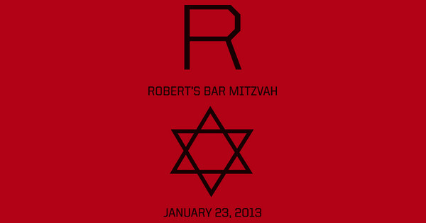 Robert's Bar Mitzvah