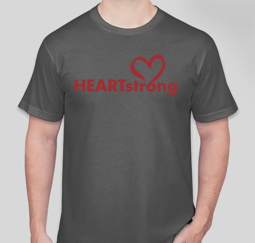 HEARTstrong Fundraiser - unisex shirt design - front