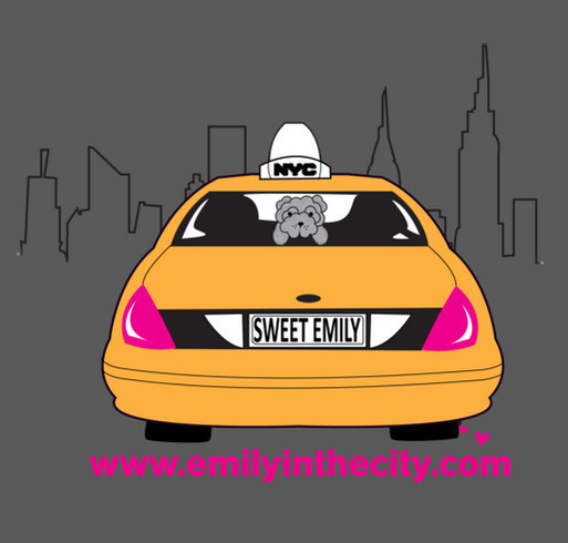 Team Sweet Emily! shirt design - zoomed