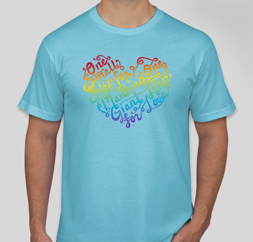 LOVE for Orlando! Fundraiser - unisex shirt design - front