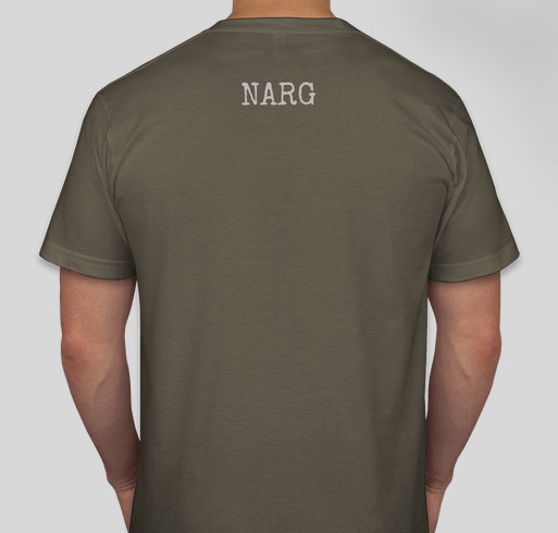 Narg Wear Charity Shirt Fundraiser - unisex shirt design - back