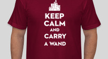 Keep Calm & Carry a Wand