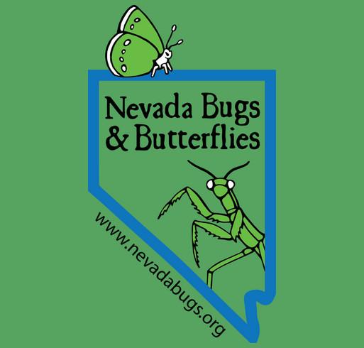 Nevada Bugs & Butterflies 2014 Fundraiser (Grown-Up Shirts) shirt design - zoomed
